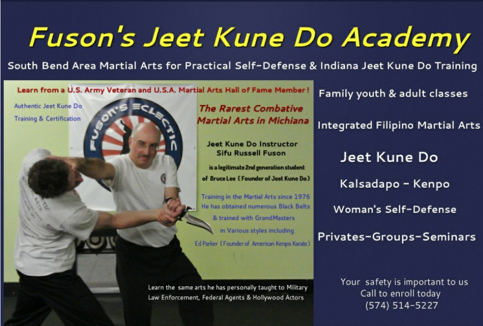 Fuson's Eclectic Martial Arts & Jeet Kune Do Academy of Indiana